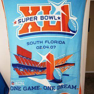 Northwest Co. Super Bowl So Florida 2007 Throw